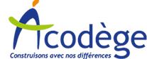 ACODEGE – Construisons avec nos différences Logo